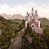 Neuschwanstein Castle LOC print rotated